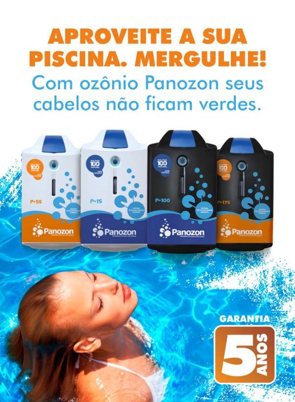 Ozonizador P15 Panozon - Piscinas até 15 m³-1113