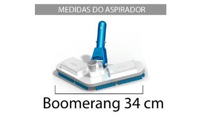 Aspirador Boomerang com escova Sodramar-594