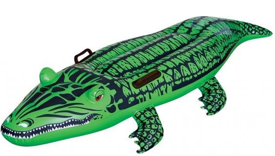 Bóia Inflável Crocodilo Mor-0