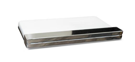 Cascata de embutir em fibra com bico aço inox 120cm Pooltec-72