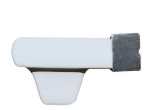 Cascata de embutir em fibra com bico aço inox 40cm Pooltec-590