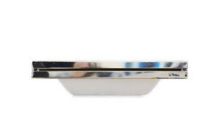 Cascata de embutir em fibra com bico aço inox 40cm Pooltec-0