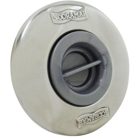 Dispositivo de Aspiração Inox Pratic 1 1/2'' Sodramar-0