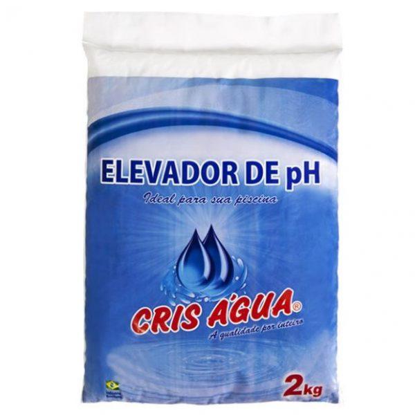 Elevador de pH 2kg Crisagua-0