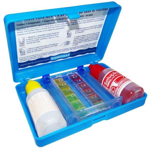 Estojo Teste Cl e pH Sodramar-0