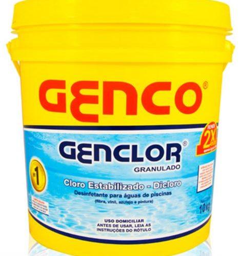 Cloro Genclor 10kg Genco-0