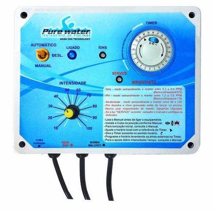 Ionizador PW15 Pure Water - Piscinas até 15.000 L-0
