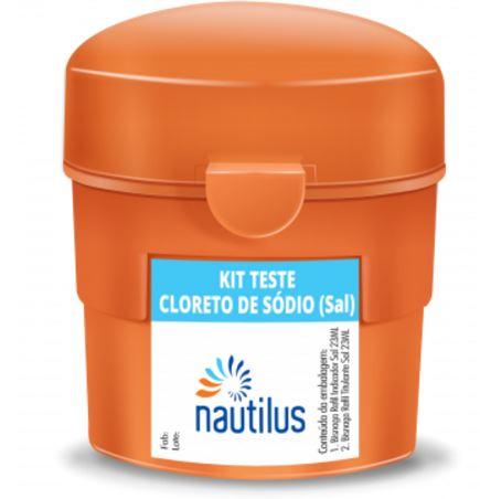 Kit Teste Cloreto de Sódio (Sal) Nautilus-0