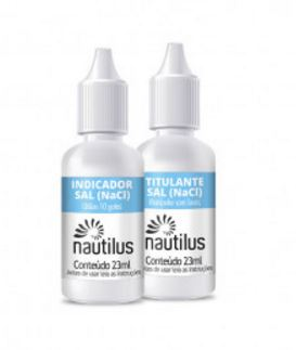 Kit Teste Cloreto de Sódio (Sal) Nautilus-179