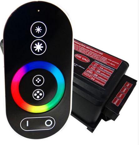 Controle c/ Comando de Luminárias Led Touch Sodramar-0