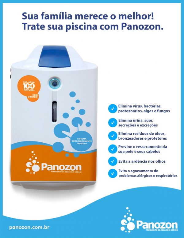 Ozonizador P15 Panozon - Piscinas até 15 m³-1112