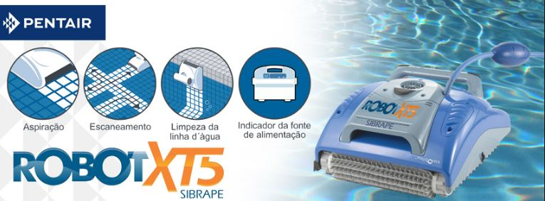 Aspirador Automático Robot XT5 Pentair-330
