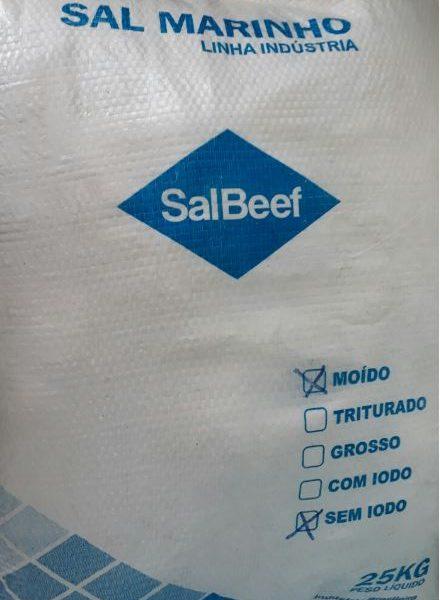 Sal Não Iodado para Piscinas 25Kg- SalBeef-0