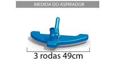Aspirador Jumbo 3 rodas Sodramar-560