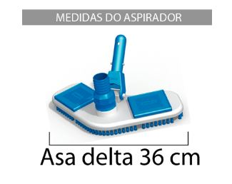 Aspirador Asa Delta com escova Sodramar-677
