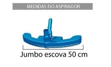 Aspirador Jumbo com escova Sodramar-556