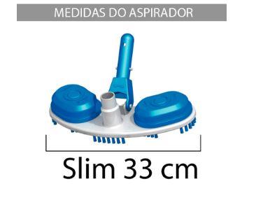 Aspirador Slim com escova Sodramar-674