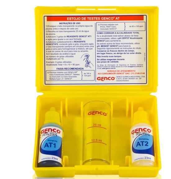 Estojo Teste Alcalinidade Genco-0