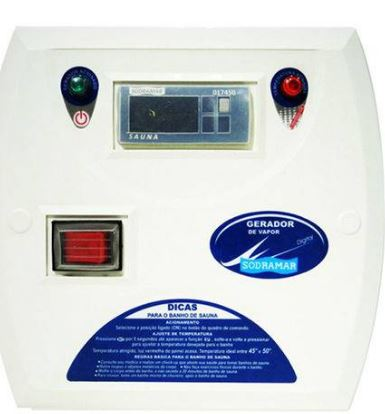 Comando Digital A Exceto para Modelo 12KW Bifásico Sodramar-0