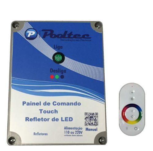 Módulo de Comando Touch Até 500 Leds Pooltec-0