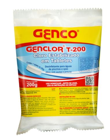 Tablete Genclor 200gr Genco-0