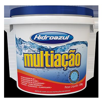 Cloro Multiação 2,5Kg Hidroazul-0