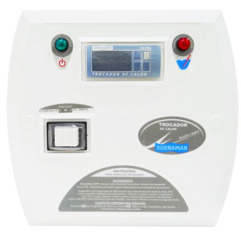 Painel Digital para Trocador de Calor Sodramar-0