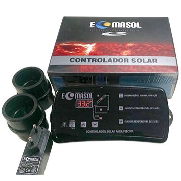 Coletor Solar G1 Girassol P/ Piscinas Até 80.000 L-999