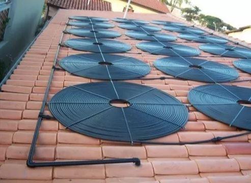 Coletor Solar G1 Girassol P/ Piscinas Até 70.000 L-1000