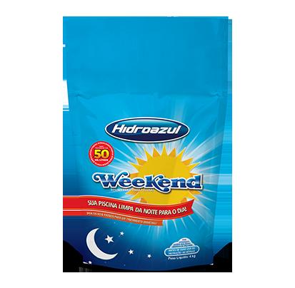 Cloro Weekend 4Kg Hidroazul-0