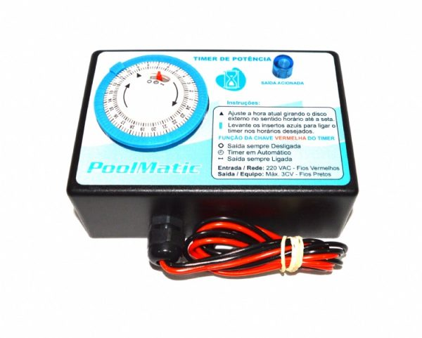 Timer Pool Matic 1CV Pure Water-0