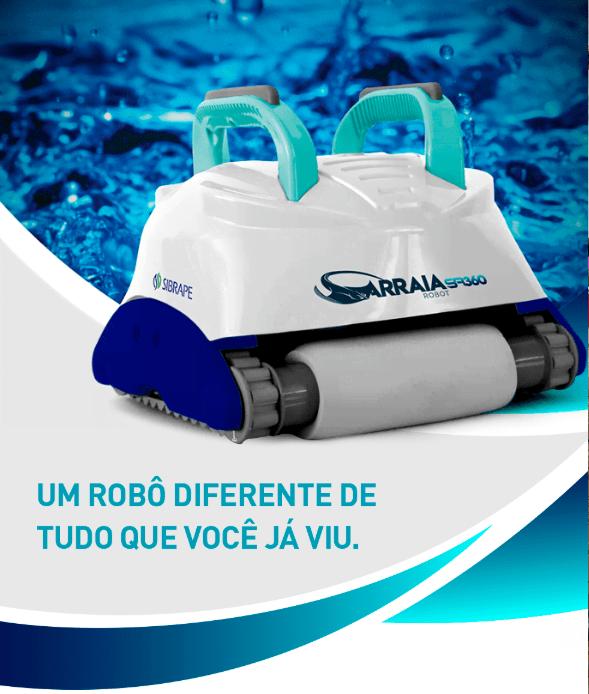 Robô Arraia SR360 Sibrape-0
