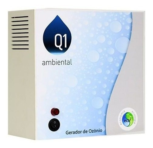 Gerador de Ozônio Home 85 (Sem Timer) Q1 Ambiental -Para Piscinas de Até 85.000 L-0