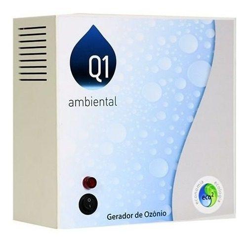 Gerador de Ozônio Home 10(Sem Timer) Q1 Ambiental -Para Piscinas de Até 10.000 L-0