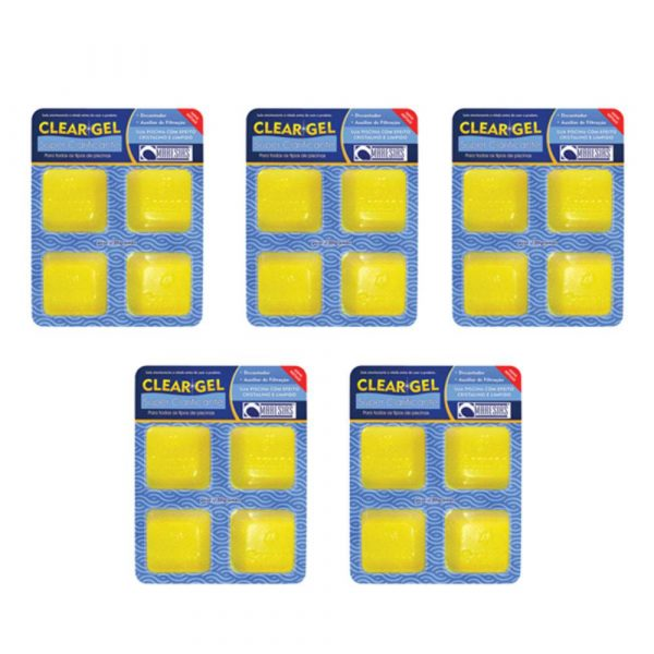Kit 5 Super Clarificante Clear Gel Maresias 100g-0