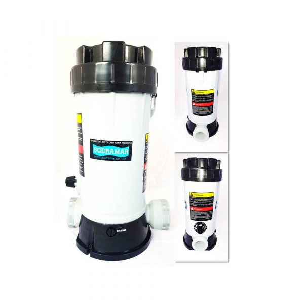 Dosador de Cloro Automático 4Kg Sodramar-0